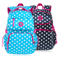 Fashion Dot Design Nylon School bag For Teenagers Women Bag Large Backpack Ladies Girl Back Pack Schoolbag Bagpack Mochila