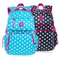 Fashion Dot Design Nylon School bag For Teenagers Women Bag Large Backpack Ladies Girl Back Pack Schoolbag Bagpack Mochila