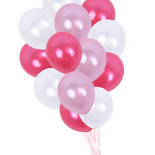 50pieces 12 Inch Three Color Pearl Latex Balloon Wedding Party Babyshower Helium kids Birthday Decorations Balloons Theme Decor