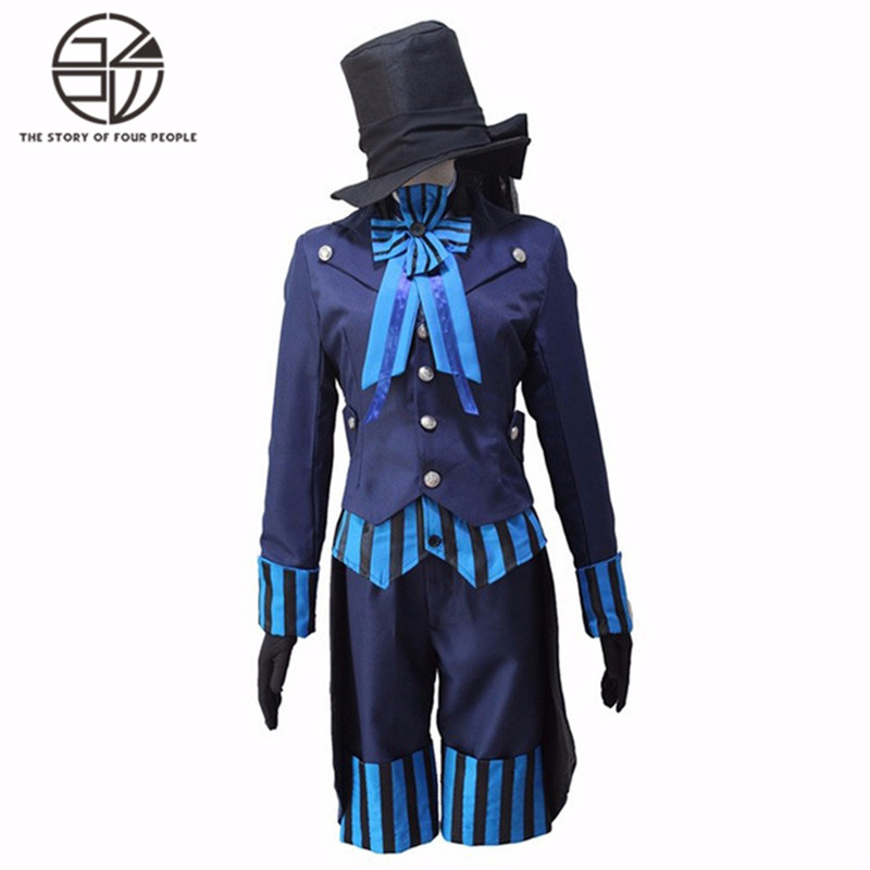 Anime Black Butler Kuroshitsuji Cosplay costume full set of fancy party dresses S-XL laptop lcd led display screen for lg lp141wx1 tl 04 wxga 14 1 inches glossy 30 pian