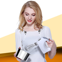 Full Automatic Milk Frother Machine Electric Egg&Cream Blender Handheld Milk Foamer Whisk Mixer Stirrer for Kitchen Tools