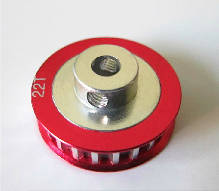 CNC Metal 22T <font><b>Pulley</b></font> Gear for SAKURA D3 CS 1/10 Drift Racing <font><b>Car</b></font> image