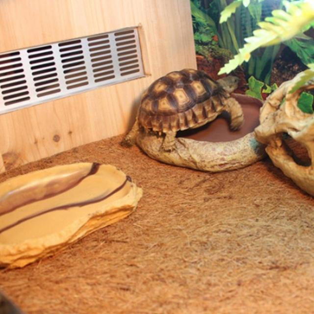 LanLan 60*40CM Pet Natural Coconut Mat Reptile Box Decoration Breathable Bedding Line -30