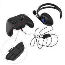 Игровая стерео гарнитура Адаптер гарнитура аудио адаптер конвертер наушников для microsoft Xbox One беспроводной игровой контроллер