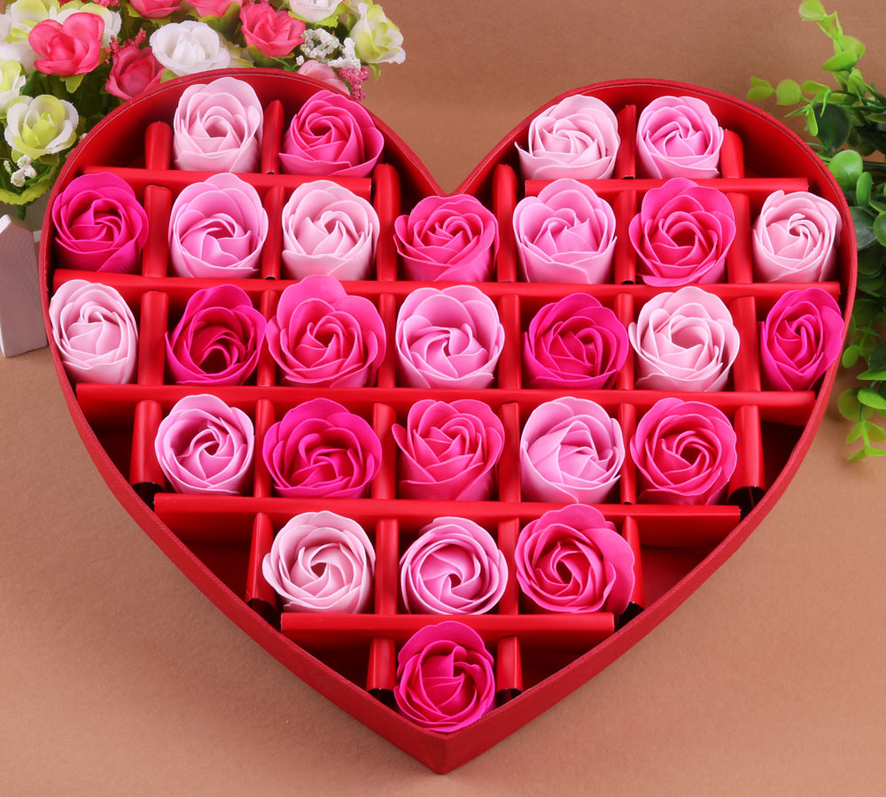 Day gift 27 soap rose gift box birthday present for girlfriend day gift 27 soap rose gift box birthday present for girlfriend gifts gift on aliexpress alibaba group negle Choice Image