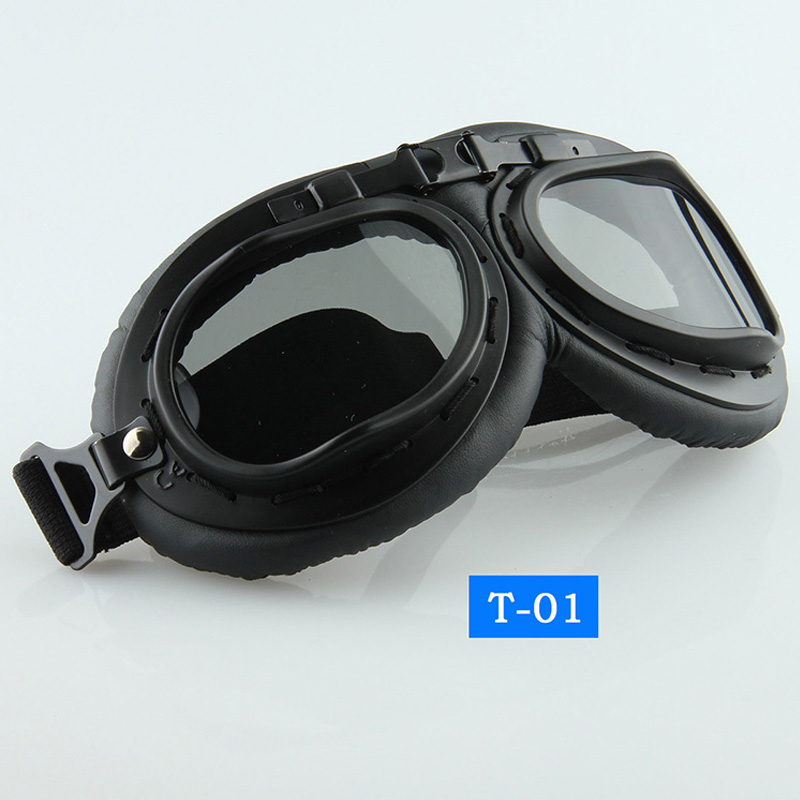 Outdoor Sports Helmets Eyewear UV Protection Motorcycle Glasses Skate Snow Ski Goggles MX Cafe Racer Oculos Motocross Goggles