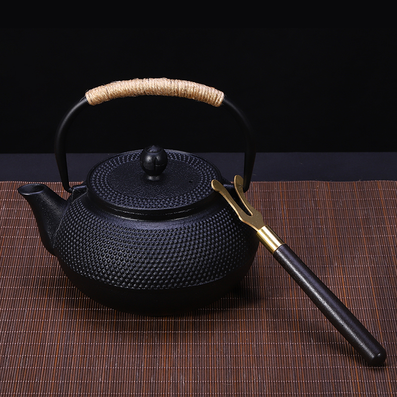0 9L cast iron teapot handmade BPA free yixing samovar glass ceramic enameled teapot from clay enameled kettle puer tea kungfu in Teapots from Home Garden