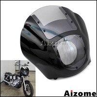 Motorcycle Headlight Fairing For Harley XL XLH 1200 Iron 883 XL883N FXR FXD Dyna Sportster Headlamp Quarter Fairing