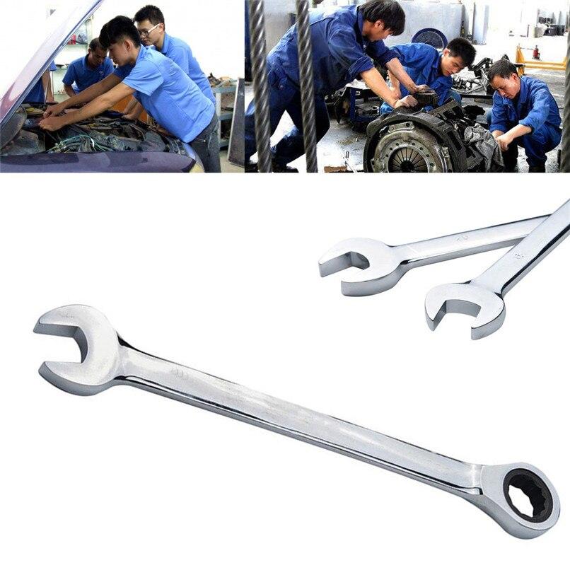 6 мм-19 мм, гаечный ключ Комбинации головы Гаечные ключи Гибкая Ratchet Комбинации Регулируемый ручной автомобиля Инструменты для ремонта авто ...