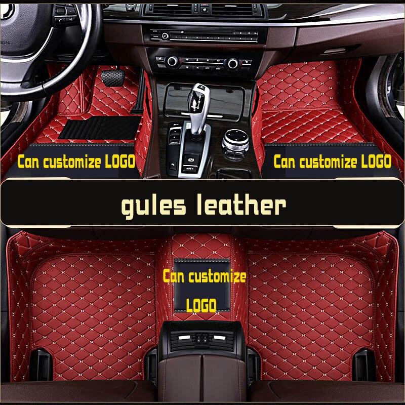Tapis de sol de voiture pour toyota prado 120 90 95 2015 accessoires toyota land cruiser prado 120 150 3d tapis de sol personnalisés pour voitures prado - 5