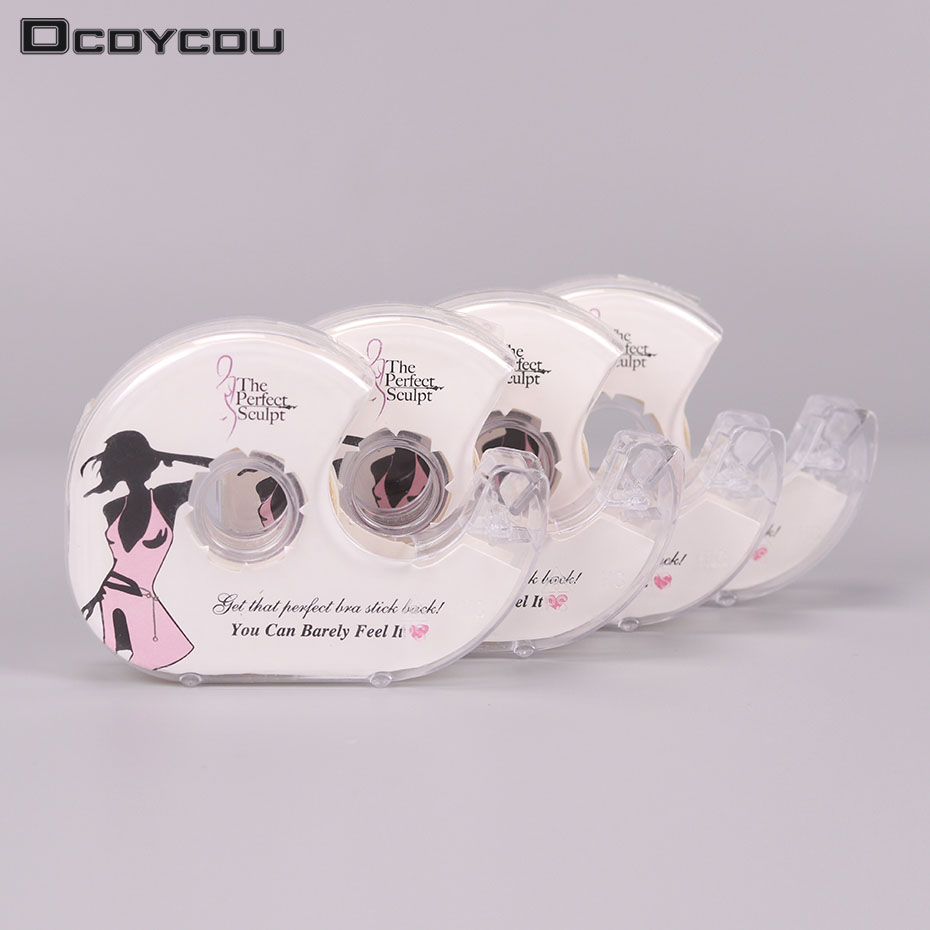 Fashion Tape 3 Meters Double Sided Adhesive Safe Lingerie Tape Body Clothing Clear Bra Strip Medical Waterproof Tape V Neck