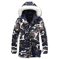 2016 Men Winter Camouflage Padded Jackets Coats Veste Hmme Parkas Jaqueta Maculina Men's Casual Fashion Slim Fit Wadded Jackets