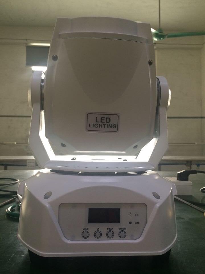 6pcs Lot Hot Sale White Color 75w Led Spot Moving Head Light Led Gobo Moving Head