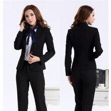 Custom Made Women suit dress Black Women Ladies  Business Office Tuxedos Formal Work Wear (Jacket+Pants)
