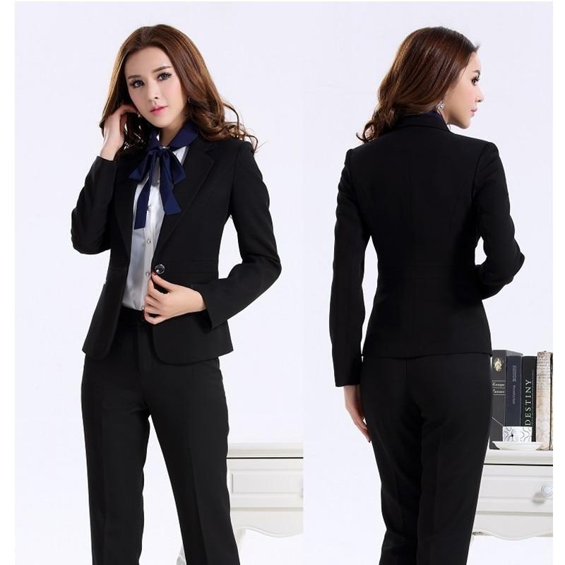 buy custom made women suit dress black women ladies business office tuxedos. Black Bedroom Furniture Sets. Home Design Ideas