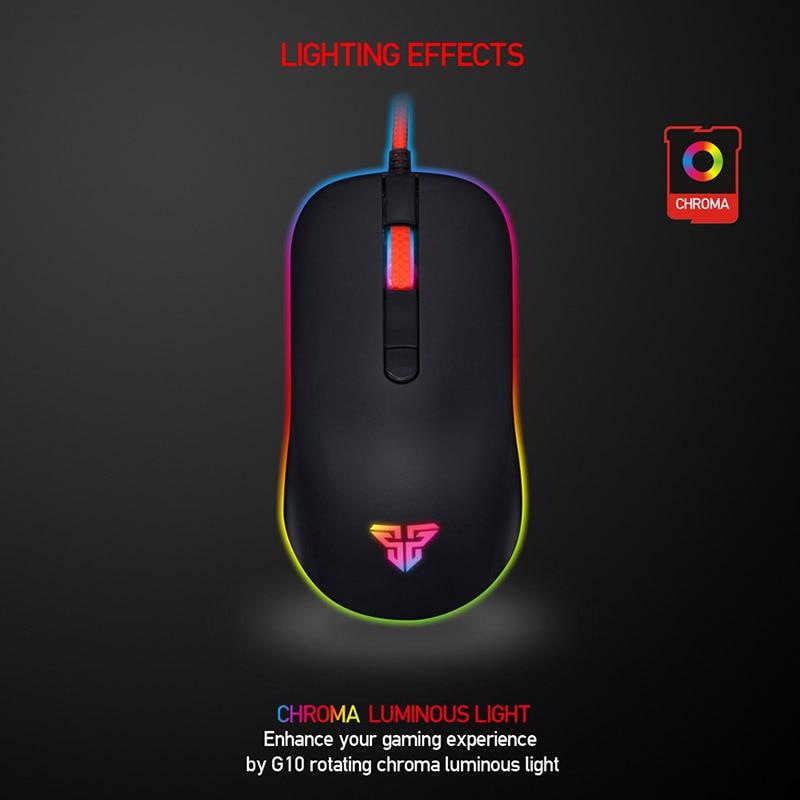 Gaming Spiel Maus Mäuse 4 Modi 2400 dpi USB Verdrahtete LED Geschenk Für PC Computer Gamer SL @ 88