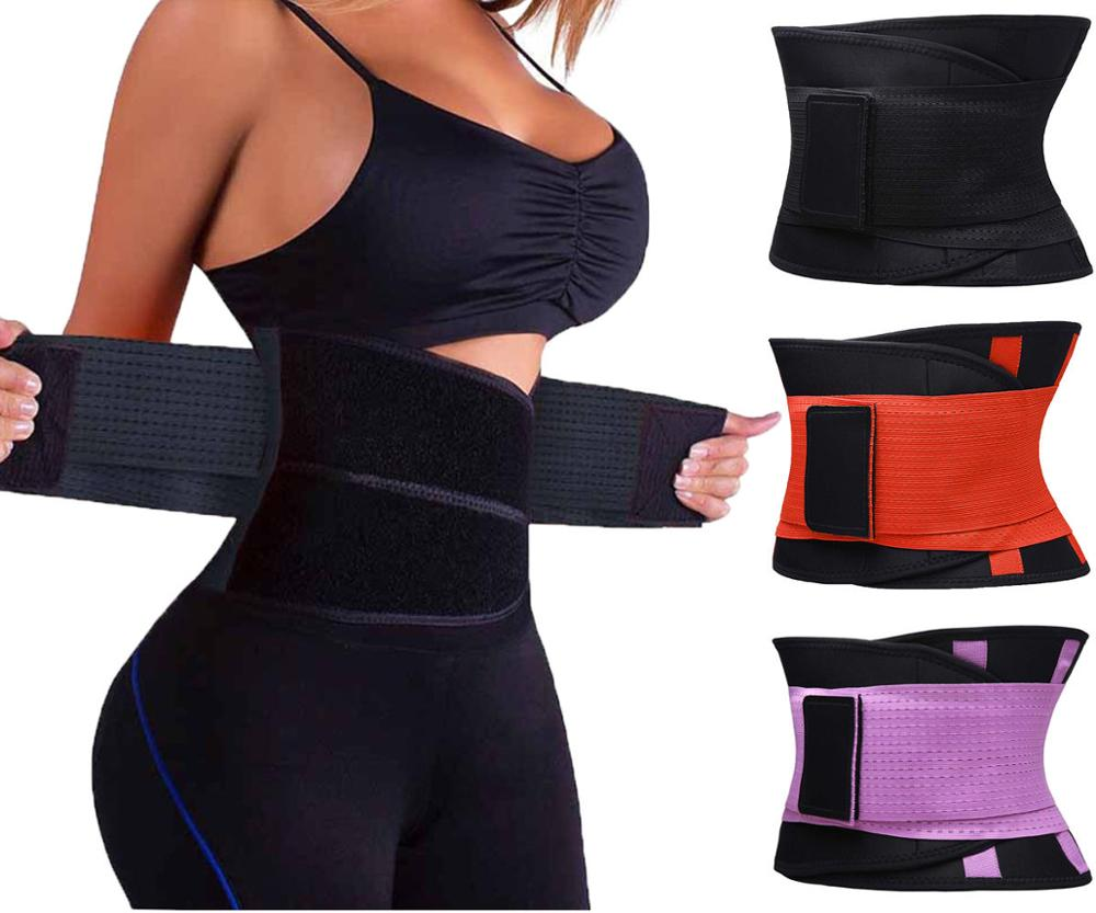 Sweat Belt Modeling Strap Waist Cincher For Women Men Waist Trainer Belly Slimming Belt Sheath Shaperwear Tummy Corset