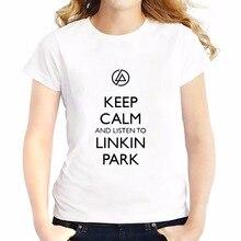 Linkin Park sign Chester Bennington t shirts feminina jollypeach new Tees shirt soft casual tshirt Short Sleeve T-Shirts femme