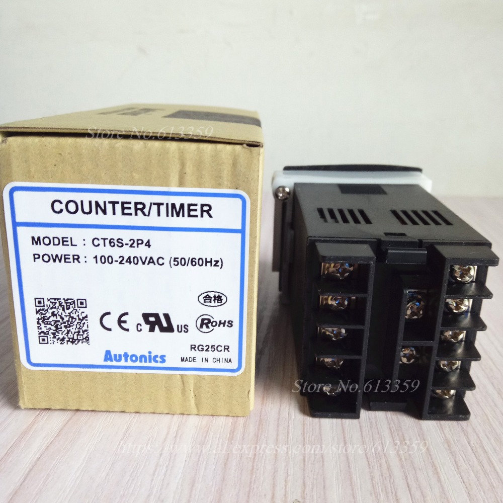 Image 3 - CT6S 2P4 100% New Original Genuine Multifunctional Timer Counter 100 240VAC 50 60Hz-in Electronics Production Machinery from Electronic Components & Supplies