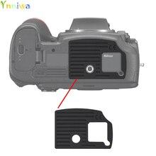 Dla Nikon D800 D800E D810 dolna ozdoba tylna pokrywa gumowa część zamienna lustrzanki cyfrowej naprawa urządzenia część