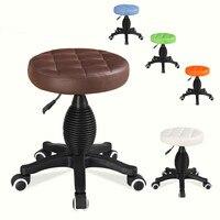 Высокое качество парикмахерское кресло высокая плотность губки поворотный барный стул лифт ПУ салон стул парикмахерские салон мебели комм