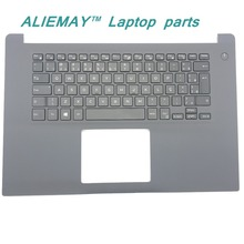 купить Brand new original laptop parts for DELL INSPIRON 15-7000 7560 7572 backlit  BR Po/BR keyboard palmrest assembly дешево