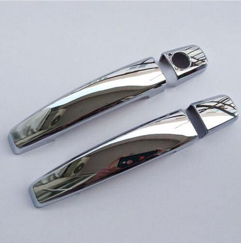Fit 2008-2014 Toyota FJ Cruiser Chrome Door Handle Covers