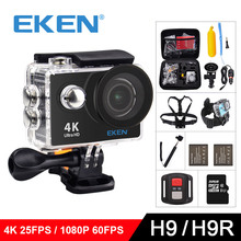 EKEN H9 / H9R Original Ultra FHD 4K 25FPS Wifi Action Camera 30M waterproof 2 Screen 1080p underwater go extreme pro sport cam