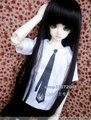 SD/BJD baby doll clothes / clothing T-shirt tie 1/6,1/4,1/3