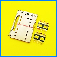 1set =3pcs Genuine New SIM card Socket reader Holder Tray Replacement for Meizu MX5 MX6 pro MX6pro high quality