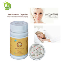 2 bottles Herbal Bee Placenta Extract Softgel Anti Aging Oral Capsules Sleeping Improvement Anti Insomna Cure Face Rejuvenation kerastase cure anti chute
