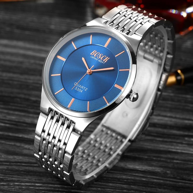 Mens Watches Top Brand Luxury 2016 Ultra-thin Clock Men Waterproof Sport Quartz Watches Men Silver Relogio Masculino de luxo soki relogio masculino de luxo fashion mens quartz analog watches watch relogio masculino esportivo yh36