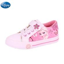 Gefrorene mädchen rosa Casual Schuhe Disney elsa und Anna prinzessin pu weiche sport schuhe Europa größe 25 36