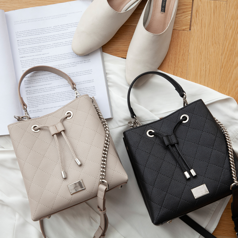 VENOF 2019 split leather handbags for women fashion exquisite female shoulder crossbody bags luxury handbags women bags designer in Shoulder Bags from Luggage Bags
