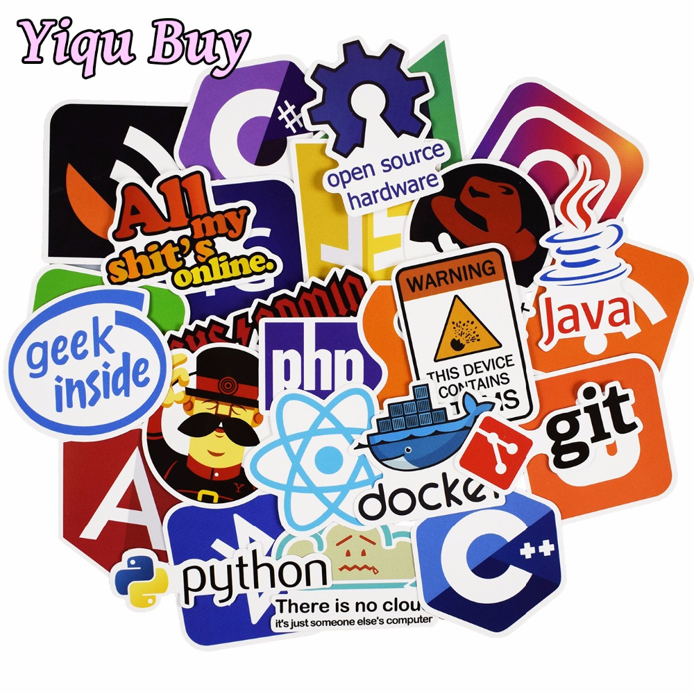 50-pcs-java-internet-js-php-docker-bitcoin-html-cloud-programming-language-app-logo-funny-stickers-for-laptop-car-diy-stickers