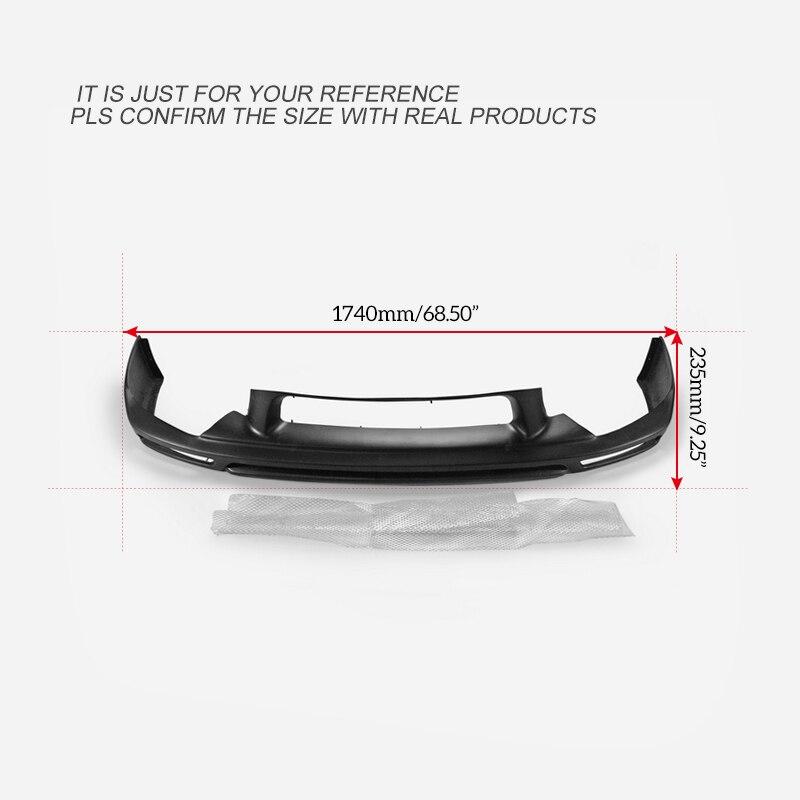 Pour Toyota ZVW30 Prius (09.5 ~ 11.12) KEN Style FRP fibre de verre avant demi-aileron en Fiber de verre