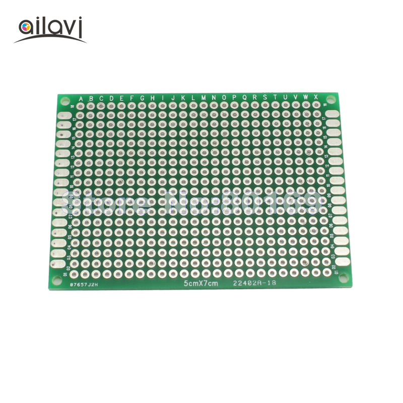 50 Pcs Lot Double Side 5CM 7CM Universal Experiment Matrix Circuit Board Blank Protoboard PCB Soldering