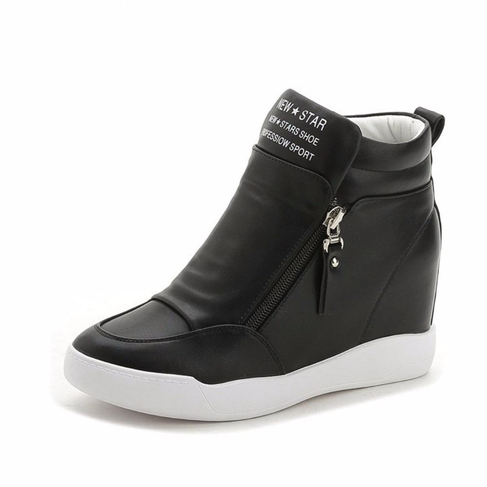66 20Off Running Top Heel Hidden Female In Platform comemore Wedges Women Designer High New Sneakers Increasing Shoes Us24 Height IEH29D
