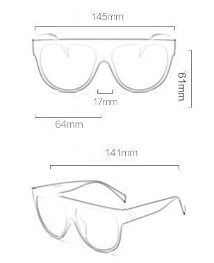 HTB1K89TPXXXXXbPapXXq6xXFXXXX - Flat Top Retro Tortoise Shadow Women's Sunglasses