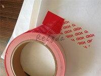 5pcs Free Shipping Custom Brand Logo Bar Code Serial Number Printed Security Seals Boxes Carton Cabinet