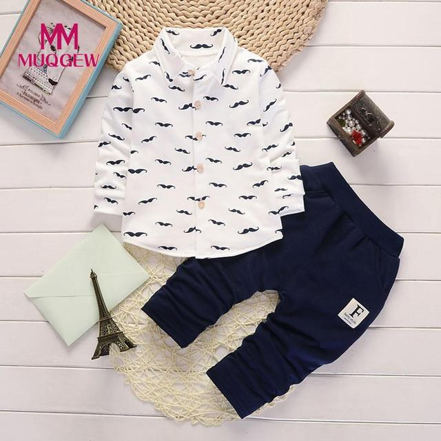 a50456857b5 MUQGEW 2pcs Toddler Infant Baby Boys Letter Clothes Set Tops+Pants Outfits  Baby Newborn Baby Clothes