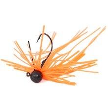 Trulinoya 3.5g Artificial Rubberjig Jigging Baits 1pcs Tungsten Steel Spinner Bait With Hooks Carp Fishing Lure