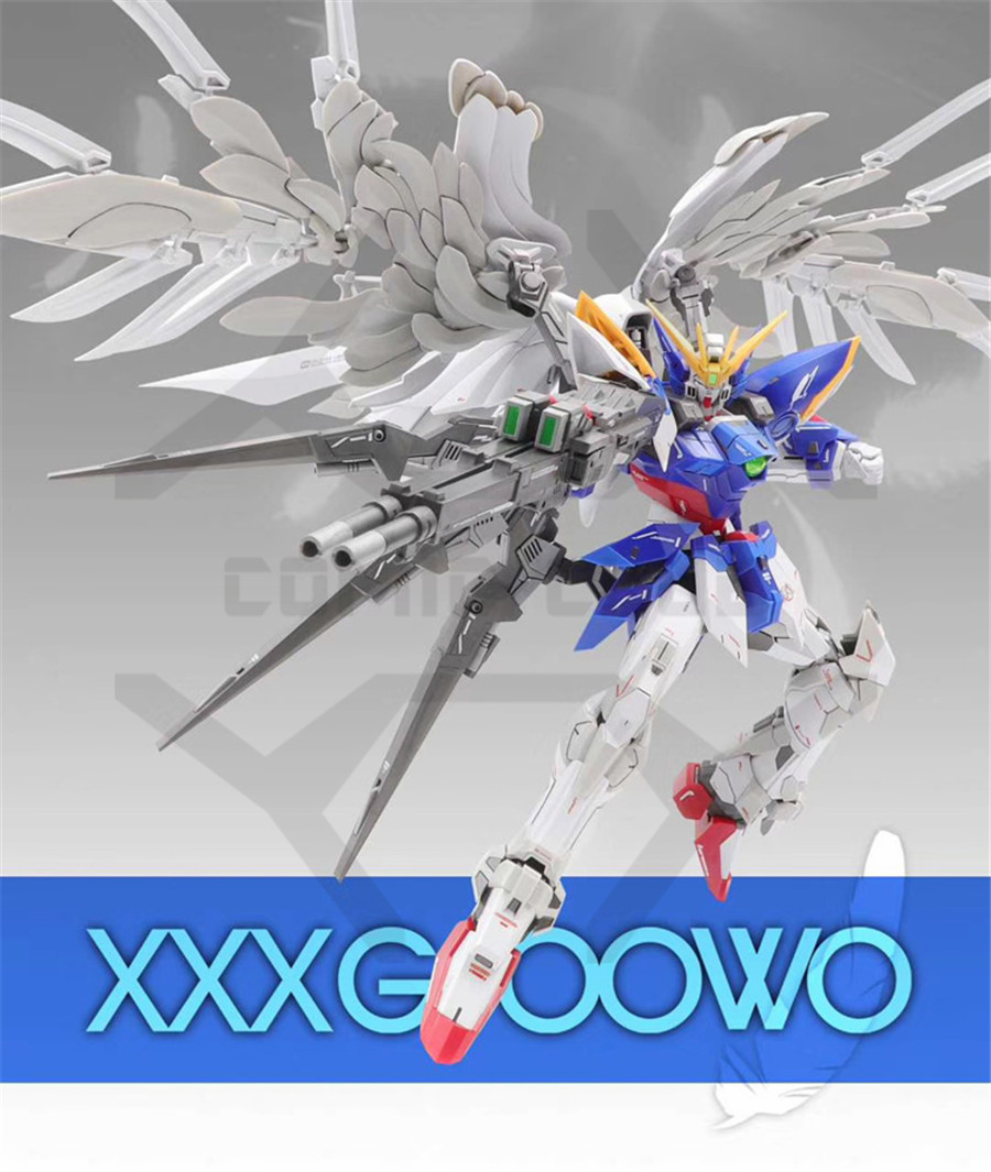 Image 2 - COMIC CLUB INSTOCK first edition MODLE HEART MG 1/100 wing gundam zero ew fix ver.  action assembly figure robot toyAction & Toy Figures   -