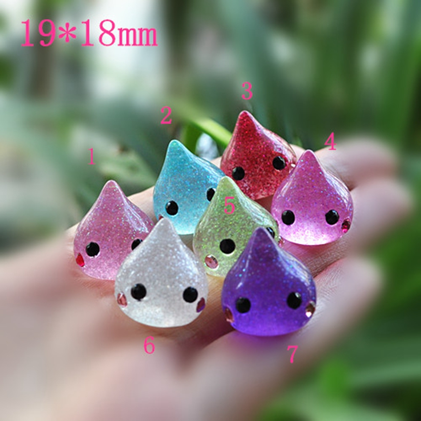 Jewelry Materials For Phone Decoration Really So Kawaii 20pcs Mixed 19mm Flat Back Reisn Cabochon Icecream