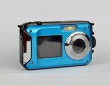 24MP Resolution  Waterproof Digital Camera  screens 2.7 inch  screens 1.8 inch HD 1080P CMOS 16x digital Zoom Camera Camcorder