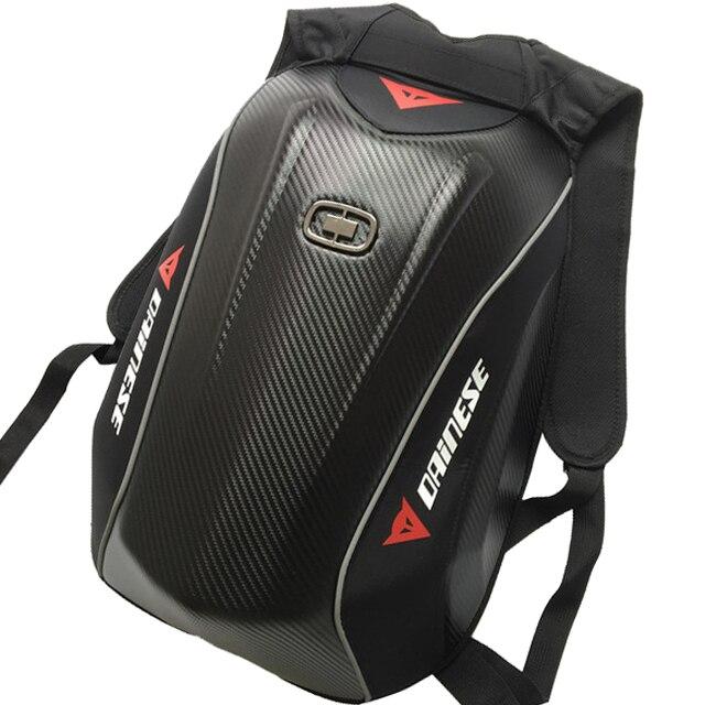 Moto moto en Fiber de carbone Dain sac coquille rigide sac à dos étanche sac de voyage pour Yamaha Ogio