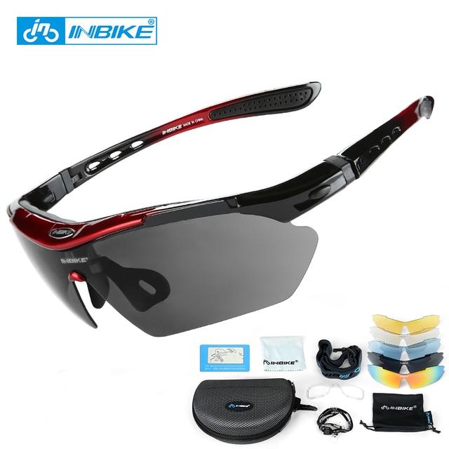 16df8f085b Gafas de sol para ciclismo en bicicleta gafas de sol polarizadas gafas  Goggle 5 lentes 3