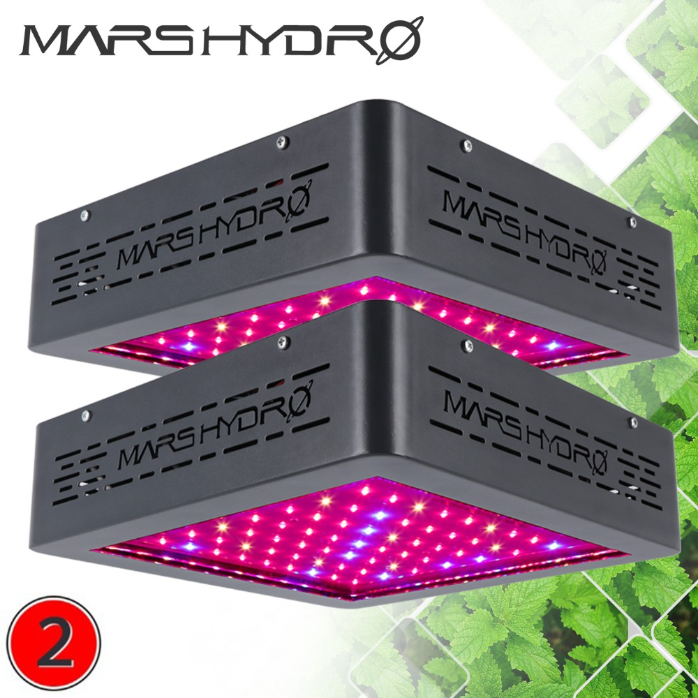 цена на Mars Hydro 2pcs MarsII 400W LED Grow Light Full Spectrum with IR for Medical Plant Veg Flower Hydro Indoor Planting Professional