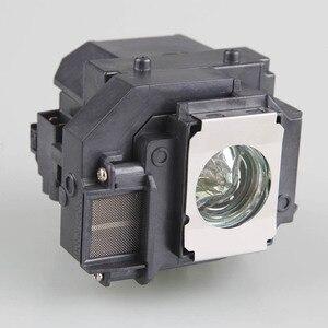 Image 2 - Высококачественная Лампа для проектора EPSON ELPL58 с корпусом