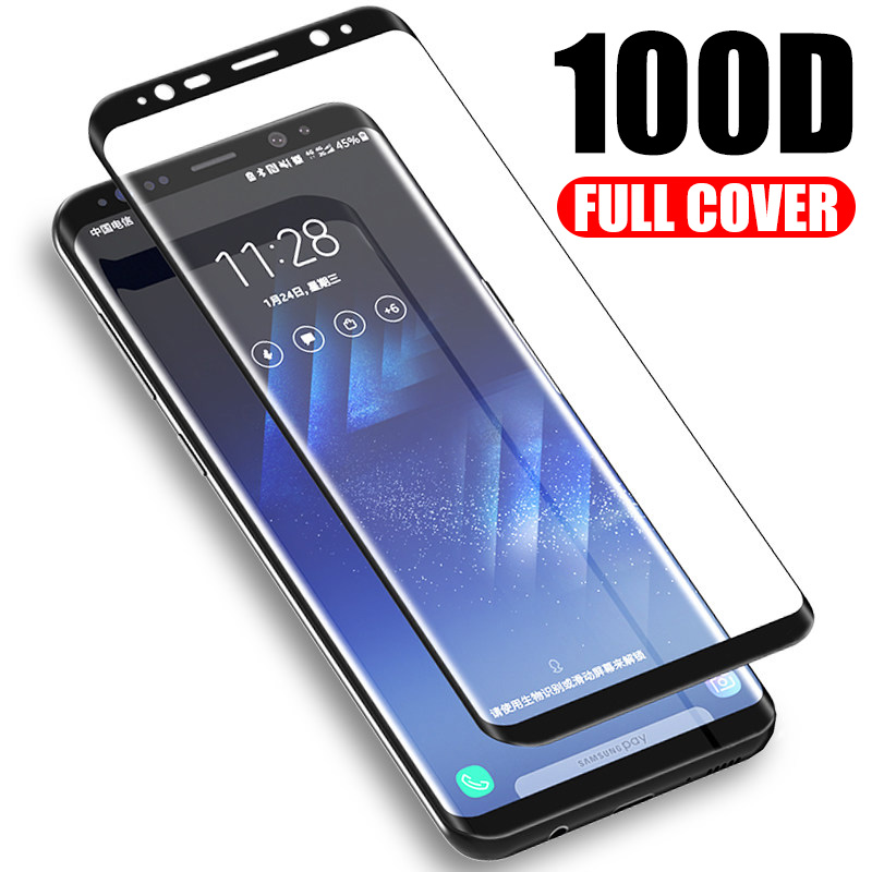 Image 1 - Tempered Protective Glass For Samsung Galaxy J4 Plus 2018 J6 Glass For Samsung A5 A6 A7 A8 Plus A9 2018 Screen Protector Film-in Phone Screen Protectors from Cellphones & Telecommunications on
